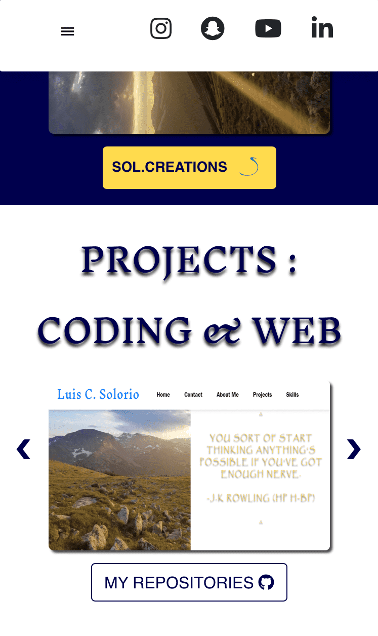 Projects Web-Responsive